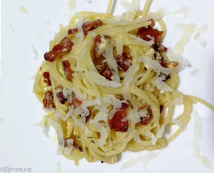 Carbonara - Step 4 - Final Product 2