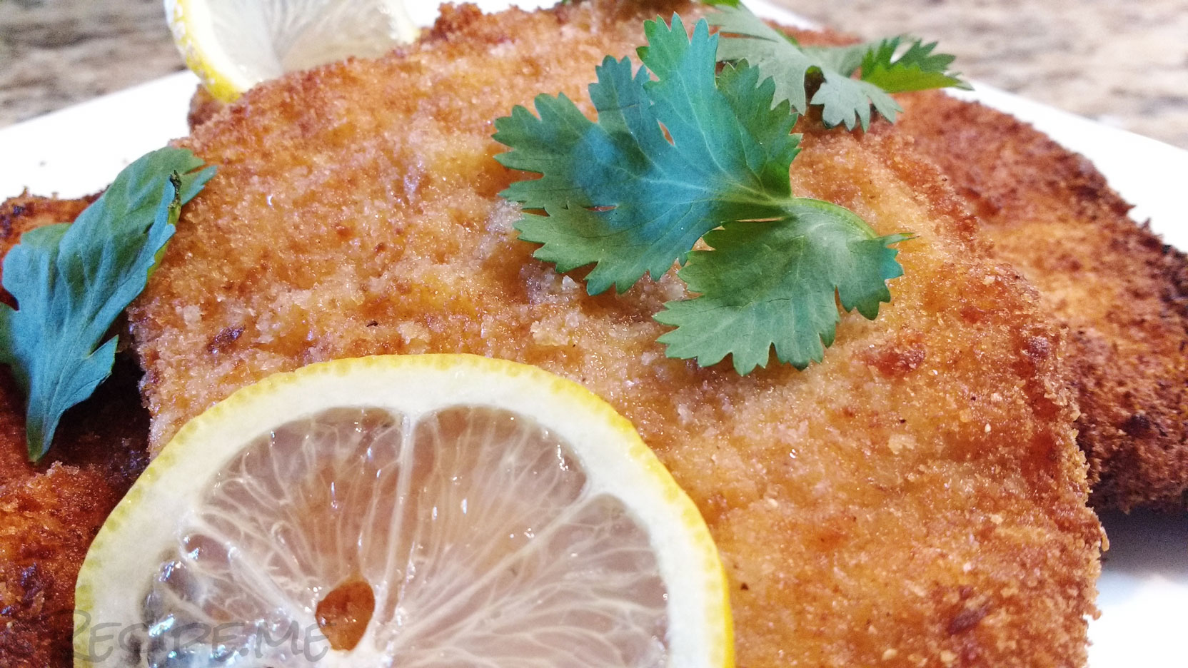 Traditional German Pork Schnitzel