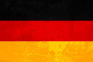 German Flag with Texture