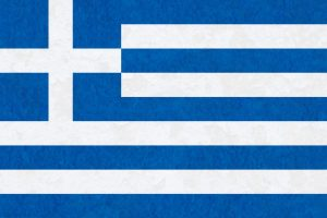 Greek Flag with Texture