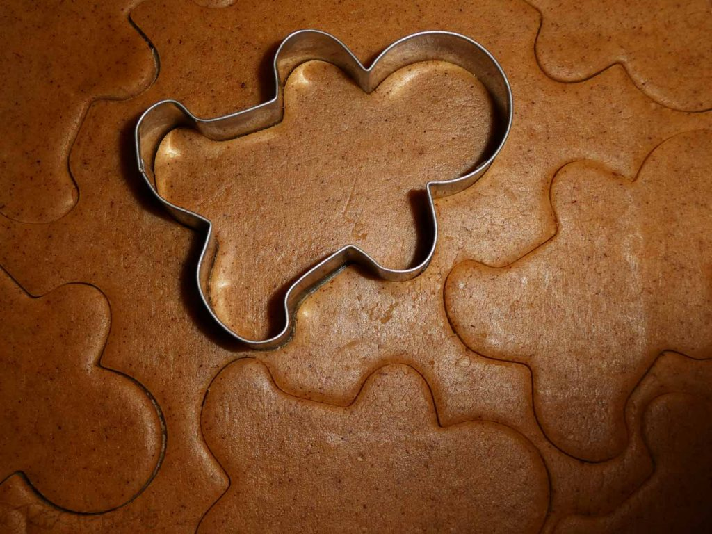 Gingerbread Biscuit - Step 5 - Cut out shapes 1