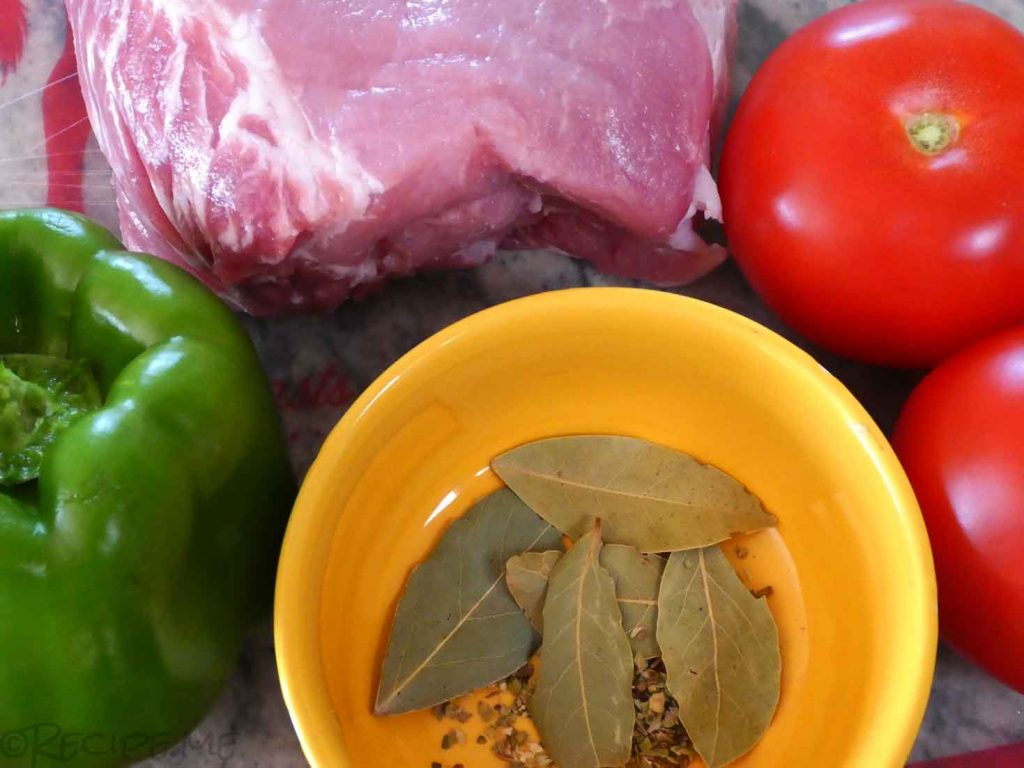 How to Make Souvlaki Step 1 Ingredients