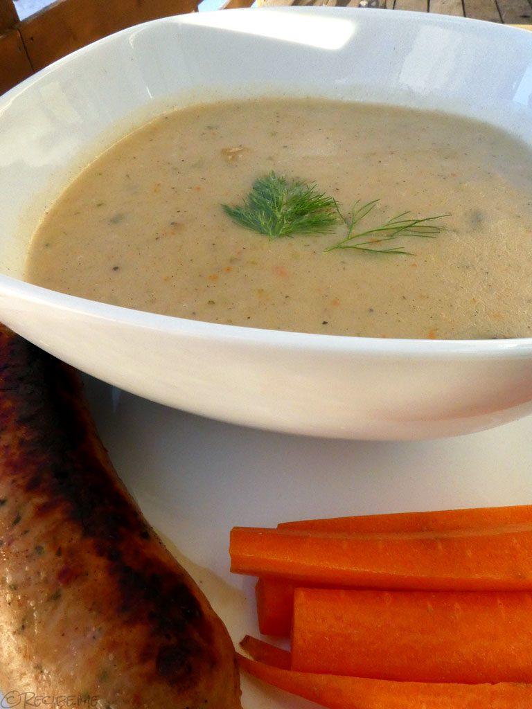 Kartoffelsuppe (German Potato Soup)