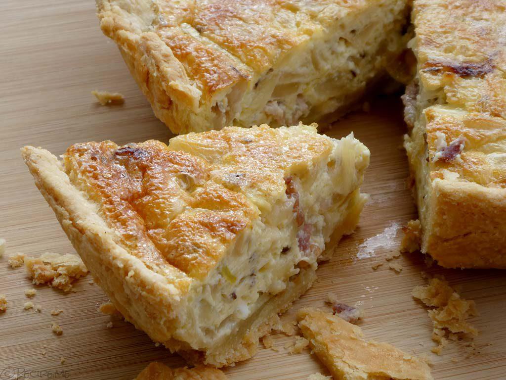 Zwiebelkuchen (German Onion Pie) Recipe