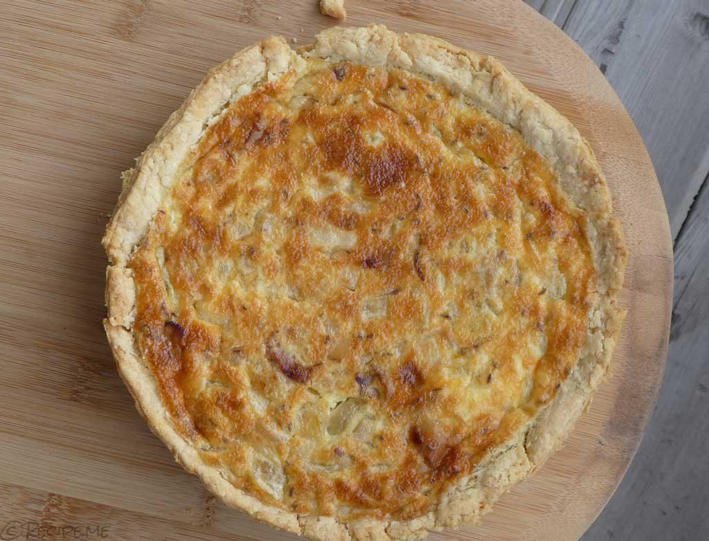 Make Zwiebelkuchen (German Onion Pie)